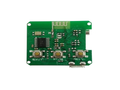 Circuit board manufacturers smart Bluetooth hat circuit board, Bluetooth music hat PCBA program