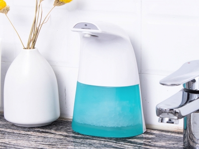 Automatic Stand Touchless Hand Sanitizer Foam Soap Dispenser