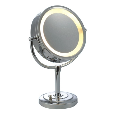 Dressing table Standing Makeup Mirror Rotatable LED light makeup mirror