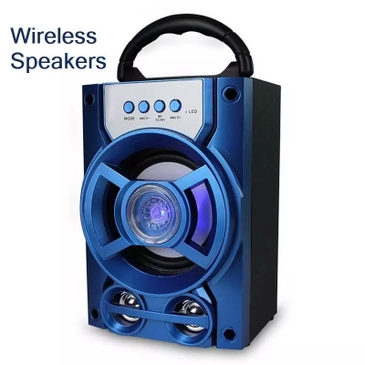 Professional Multimedia Hands-free Call Wireless Portable Bluetooth Speaker With FM Radio