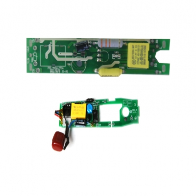 Customized development of curling straightener control board
